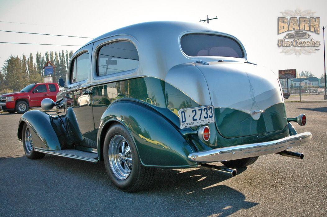 1936 Chevrolet Sedan 2 Door Humpback Streetrod Hotrod Hot Rod Street USA 1500x1000-06 wallpaper