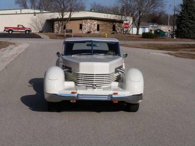 1936 Cord 810 Convertible Replica Classic Old Retro White USA 1600x1200-02 wallpaper