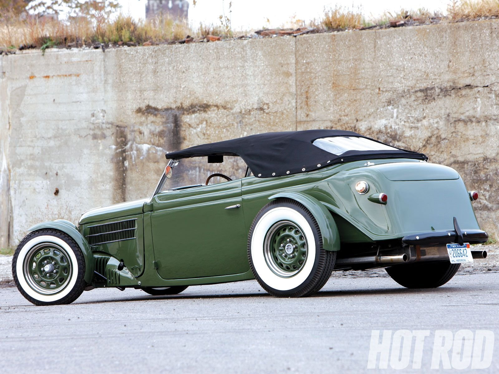 1936 Ford Phaeton Humpback Roadster Hotrod Hot Rod Custom Low Old ...