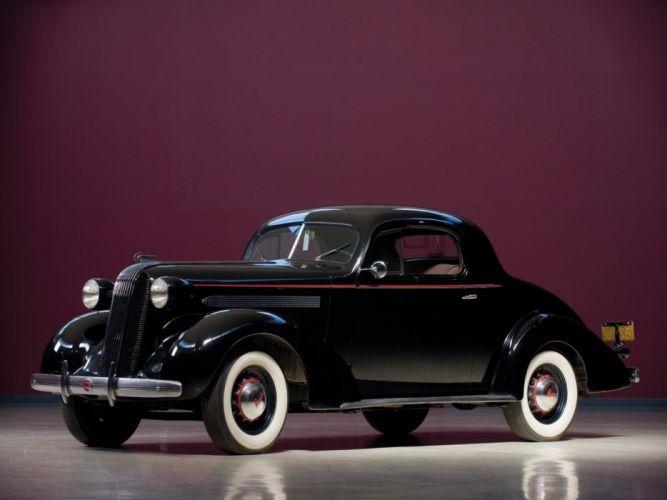 1936 Pontiac Master Six Deluxe Black Classic Old Retro Vintage USA 2048x1536-01 wallpaper