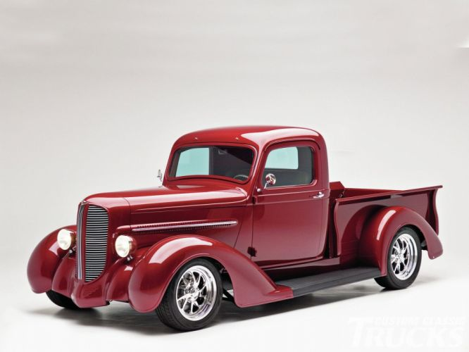 1937 Dodge Pickup Hotrod Streetrod Hot Rod Street USA 1600x1200-01 wallpaper