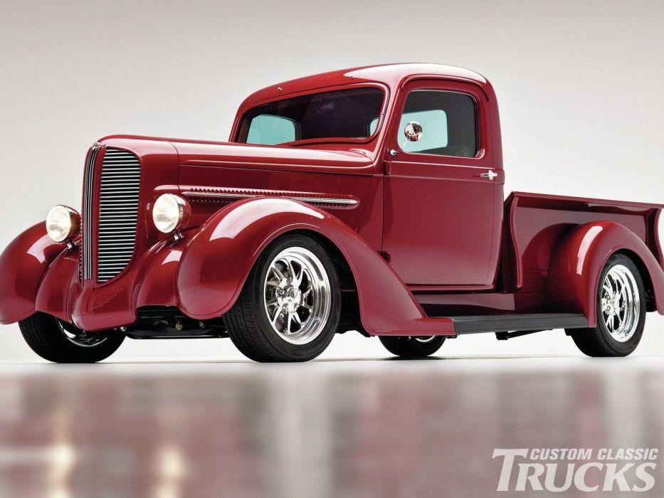 1937 Dodge Pickup Hotrod Streetrod Hot Rod Street USA 1600x1200-02 wallpaper
