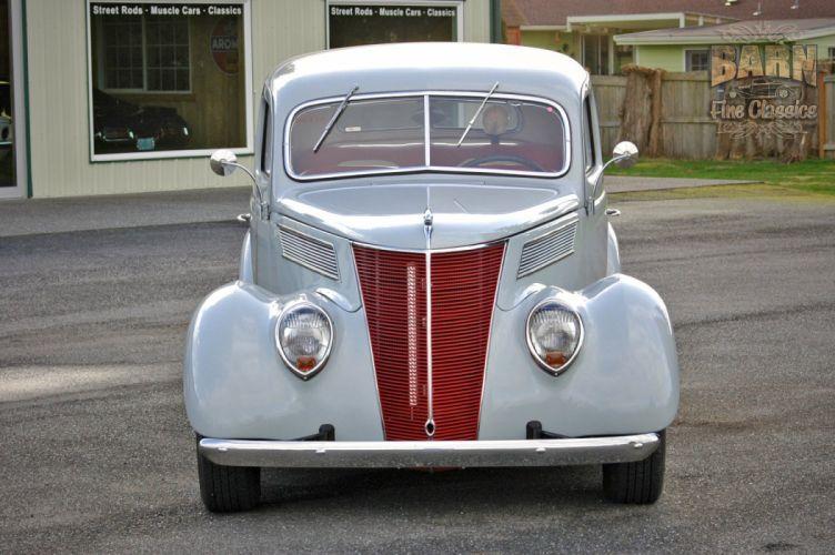 1937 Ford Sedan 2 Door Slantback Hotrod Hot Rod Old School USA 1500x1000-04 wallpaper