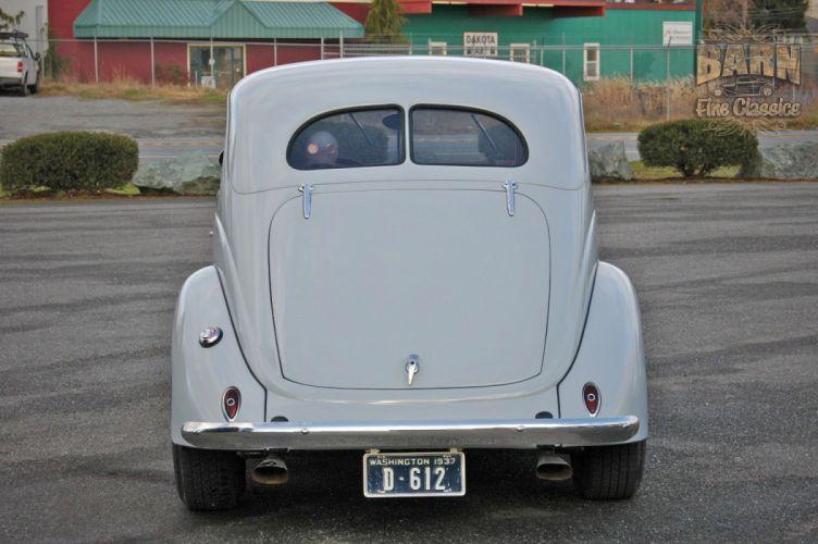 1937 Ford Sedan 2 Door Slantback Hotrod Hot Rod Old School USA 1500x1000-07 wallpaper