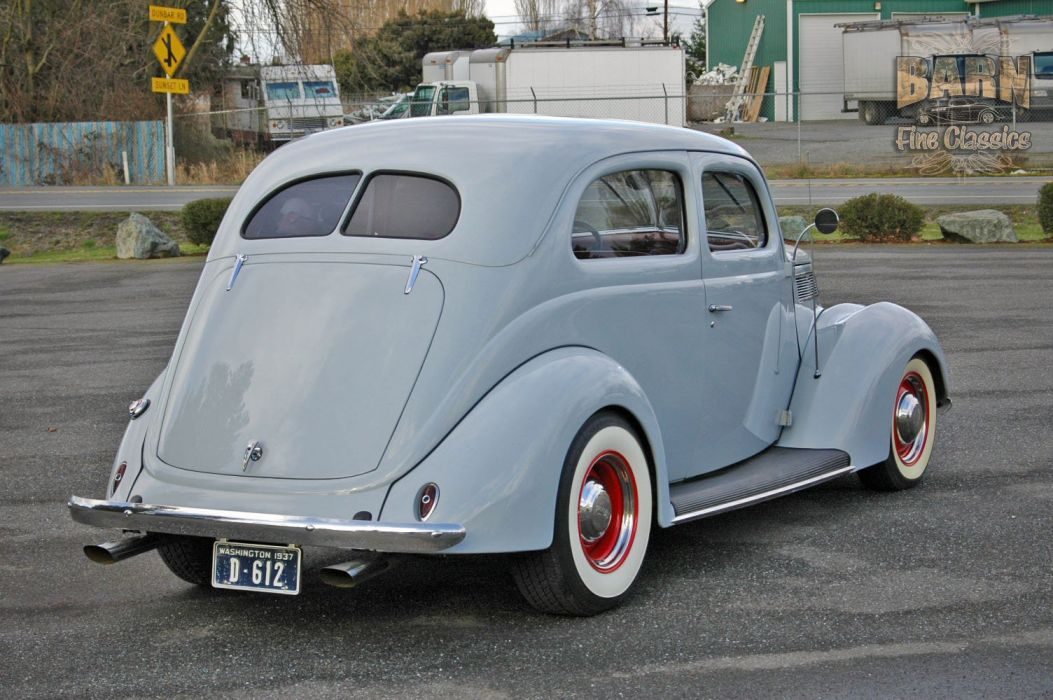 1937 Ford Sedan 2 Door Slantback Hotrod Hot Rod Old School USA 1500x1000-09 wallpaper