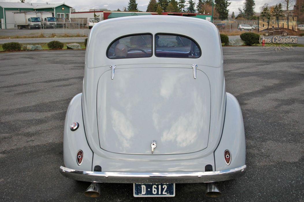 1937 Ford Sedan 2 Door Slantback Hotrod Hot Rod Old School USA 1500x1000-21 wallpaper