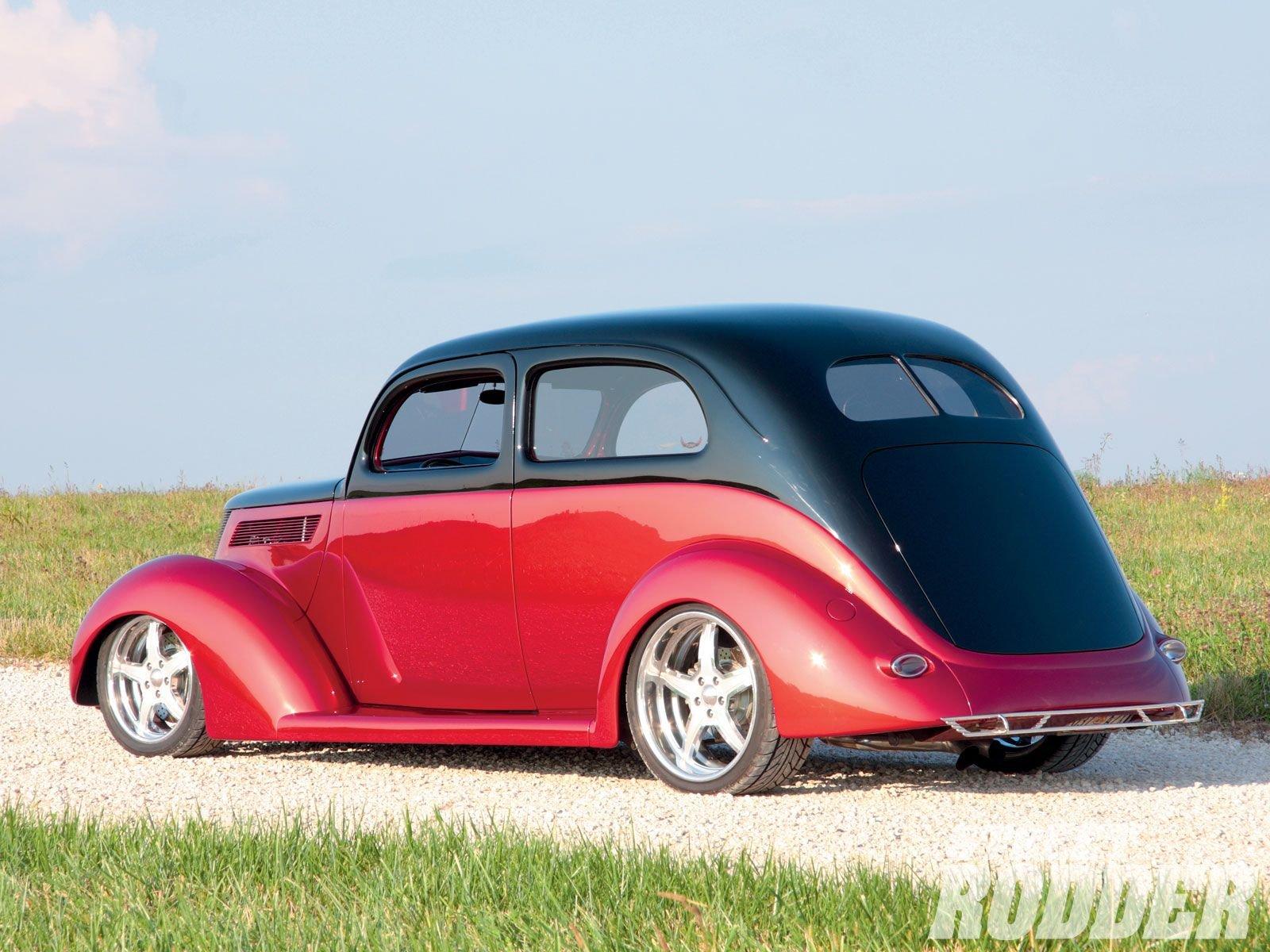 1937 ford sedan 2 door slantback hotrod hot rod streetrod for 1937 ford 2 door slant back