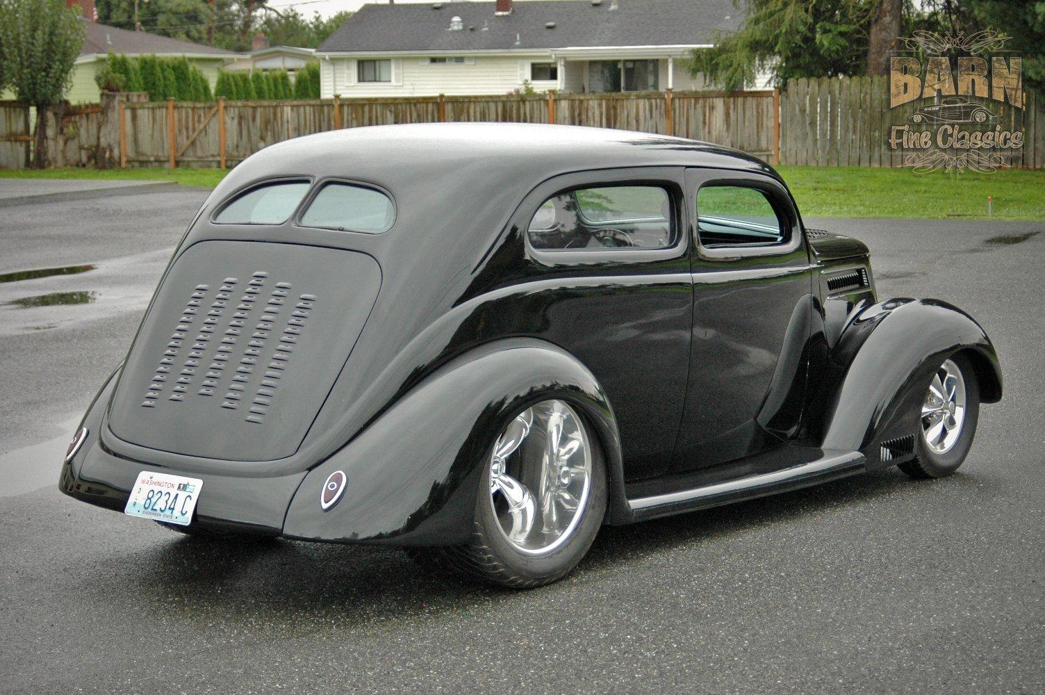 1937 ford sedan 2 door slantback hotrod streetrod hot rod for 1937 ford four door sedan