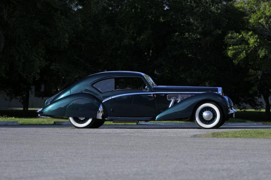 1938 Delage D8 Classic Old Retro Vintage Elegance France 4200x2790-04 wallpaper