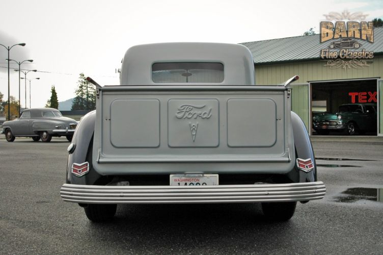 1938 Ford Pickup Hotrod Hod Rod Old School Custom USA 1500x1000-15 wallpaper
