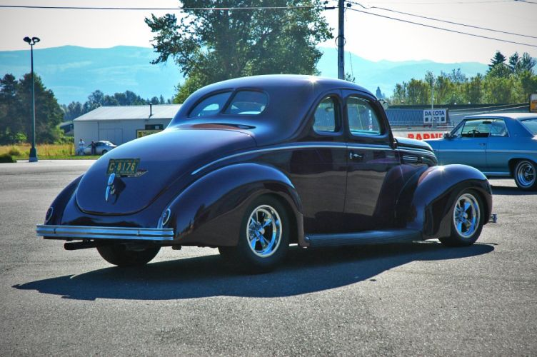 1938 Ford Deluxe Coupe 5 Window Hotrod Streetrod Hot Rod Street USA 1500x1000-03 wallpaper