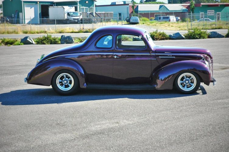 1938 Ford Deluxe Coupe 5 Window Hotrod Streetrod Hot Rod Street USA 1500x1000-05 wallpaper