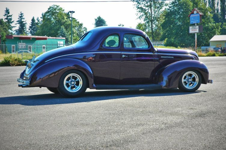 1938 Ford Deluxe Coupe 5 Window Hotrod Streetrod Hot Rod Street USA 1500x1000-04 wallpaper