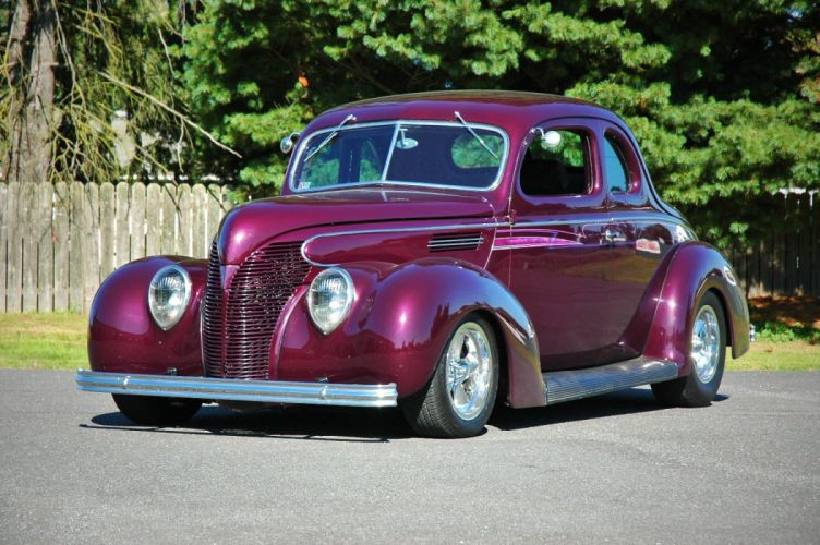 1938 Ford Deluxe Coupe 5 Window Hotrod Streetrod Hot Rod Street USA 1500x1000-10 wallpaper