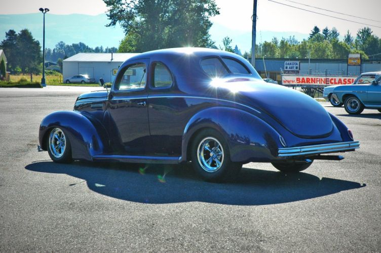 1938 Ford Deluxe Coupe 5 Window Hotrod Streetrod Hot Rod Street USA 1500x1000-15 wallpaper
