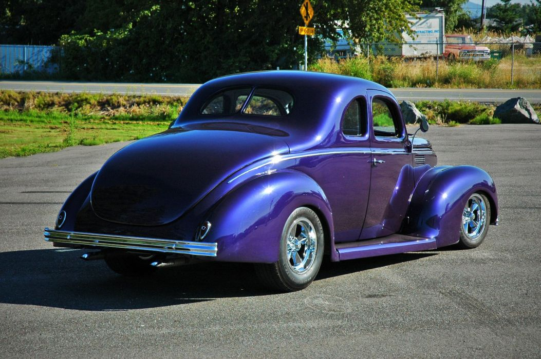 1938 Ford Deluxe Coupe 5 Window Hotrod Streetrod Hot Rod Street USA 1500x1000-17 wallpaper