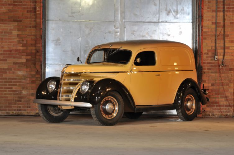 1938 Ford Sedan Delivery Classic Old Retro Vintage USA 4200x2790 wallpaper