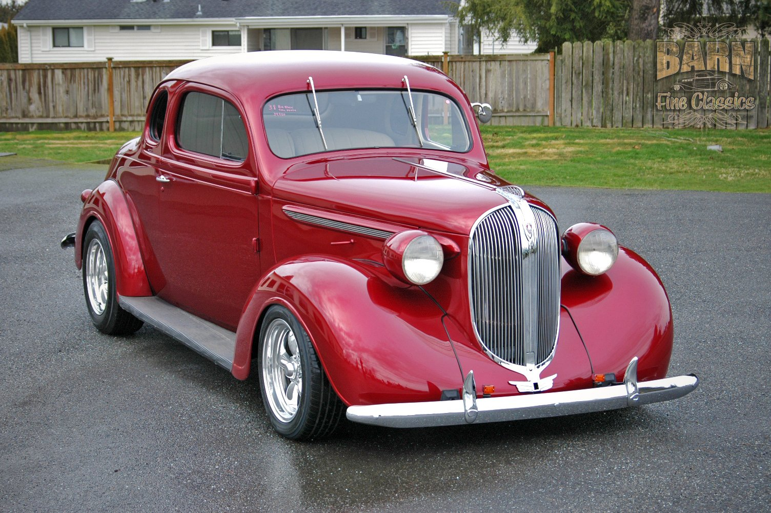 1938 Plymouth Coupe 2 Door Hotrod Streetrod Hot Rod Street