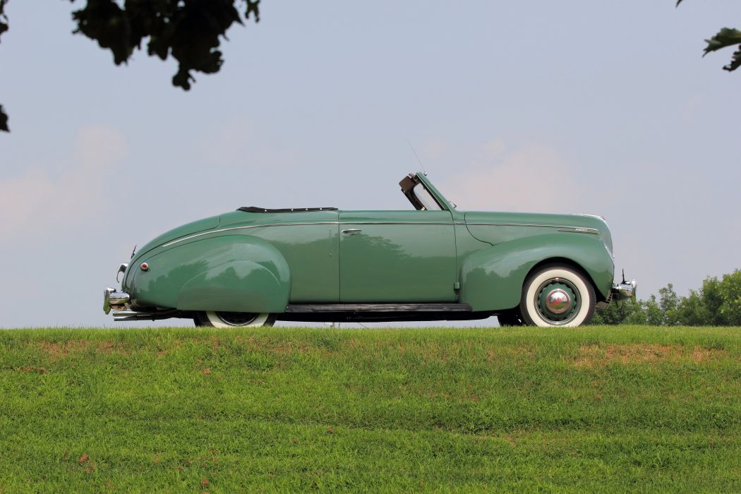 1938 Mercury Eight Deluxe Convertible Classic Old Vintage USA 5184x3456-02 wallpaper