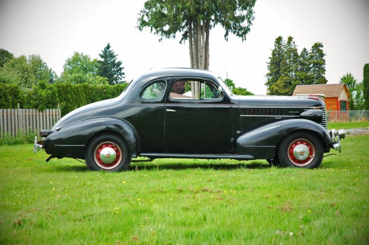 1938 Pontiac Coupe 2 Door Classic Old Retro Vintage USA 1500x1000-05 wallpaper