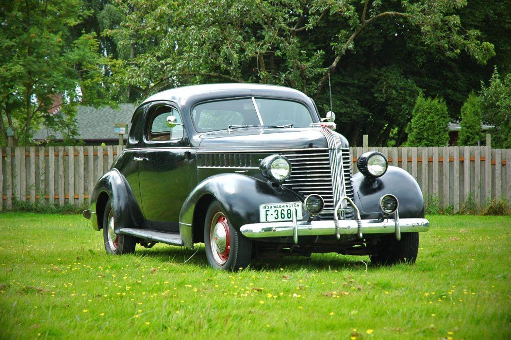 1938 Pontiac Coupe 2 Door Classic Old Retro Vintage USA 1500x1000-08 wallpaper
