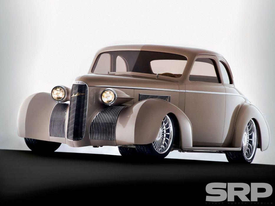 1939 Cadillac Lasalle Hotrod Streetrod Hot Rod Street USA 1600x1200-01 wallpaper