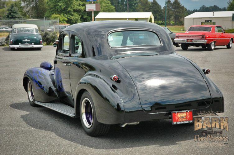 1939 Chevrolet Business Coupe Hotrod Hot Rod Custom Old school USA 1500x1000-04 wallpaper