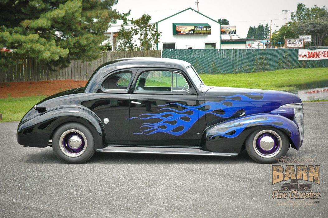 1939 Chevrolet Business Coupe Hotrod Hot Rod Custom Old school USA 1500x1000-06 wallpaper