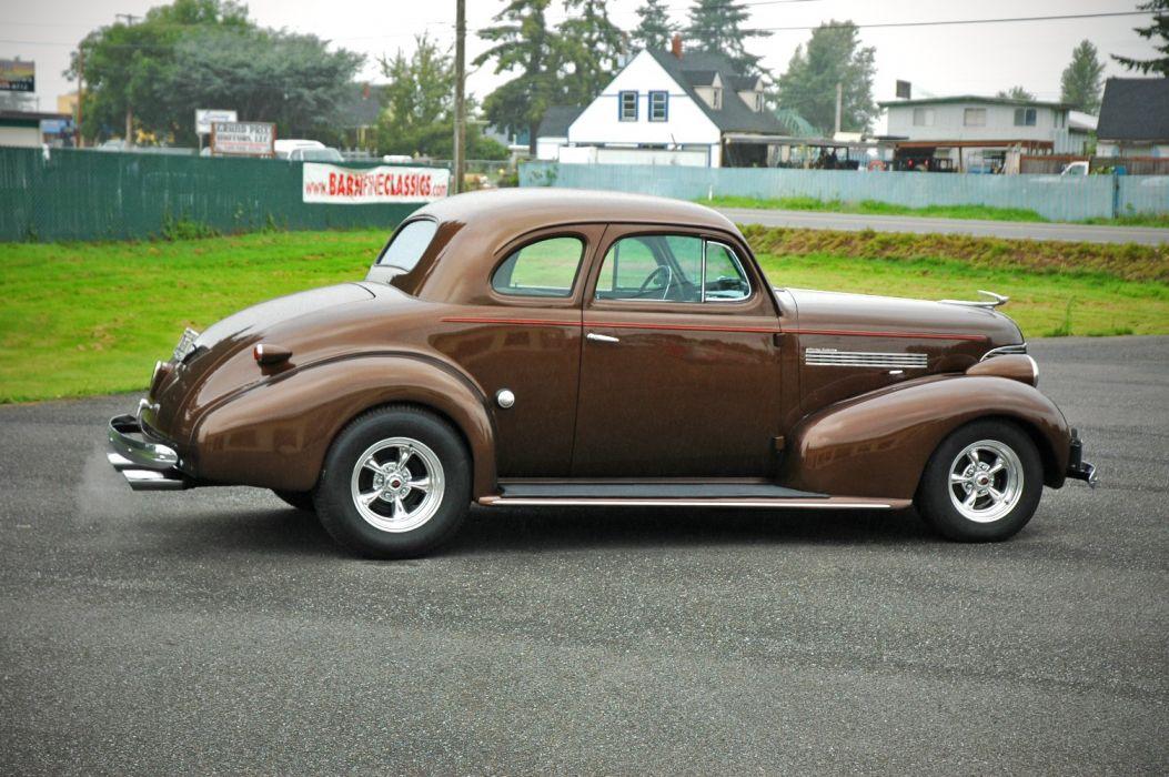 1939 Chevrolet Master Deluxe Coupe Hotrod Hot Rod Streetrod Street USA 1500x1000-11 wallpaper
