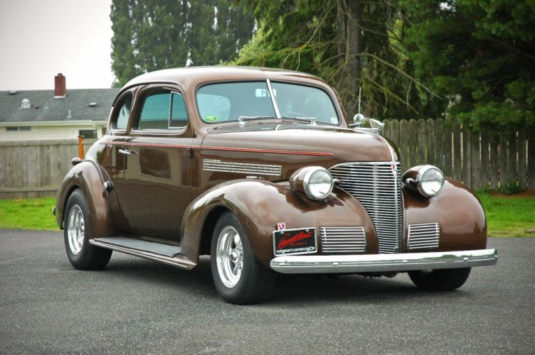 1939 Chevrolet Master Deluxe Coupe Hotrod Hot Rod Streetrod Street USA 1500x1000-12 wallpaper