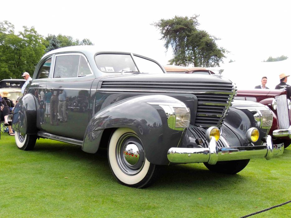 1939 Graham Model 96 Sharknose Coupe Classic Old Retro Vintage USA 3800x2850-01 wallpaper
