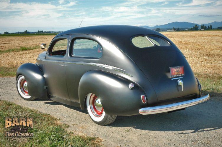 1939 Mercury Eight Sedan 2 door Hotrod Hot Rod Custom Old school USA 1500x1000-01-02 wallpaper
