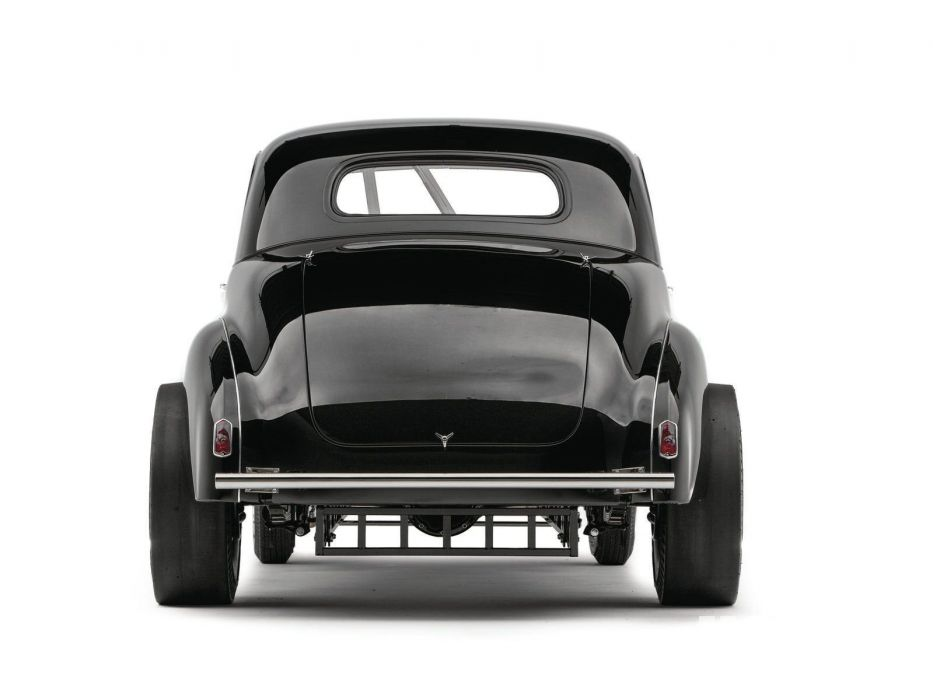 1939 Studebaker Champion Coupe Drag Dragster Gasser Black USA 1600x1200-03 wallpaper
