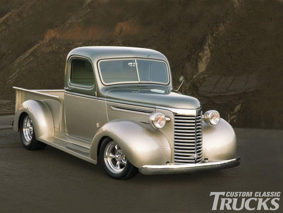 1940 Chevrolet Pickup Hotrod Streetrod Hot Rod Street USA 1600x1200-01 wallpaper