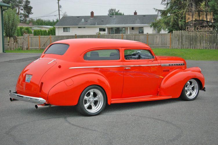 1940 Chevrolet Sedan Special Deluxe Hotrod Streetrod Hot Rod Street USA 1500x1000-02 wallpaper
