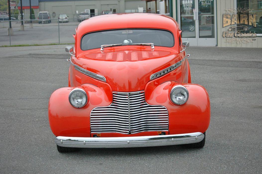1940 Chevrolet Sedan Special Deluxe Hotrod Streetrod Hot Rod Street USA 1500x1000-05 wallpaper