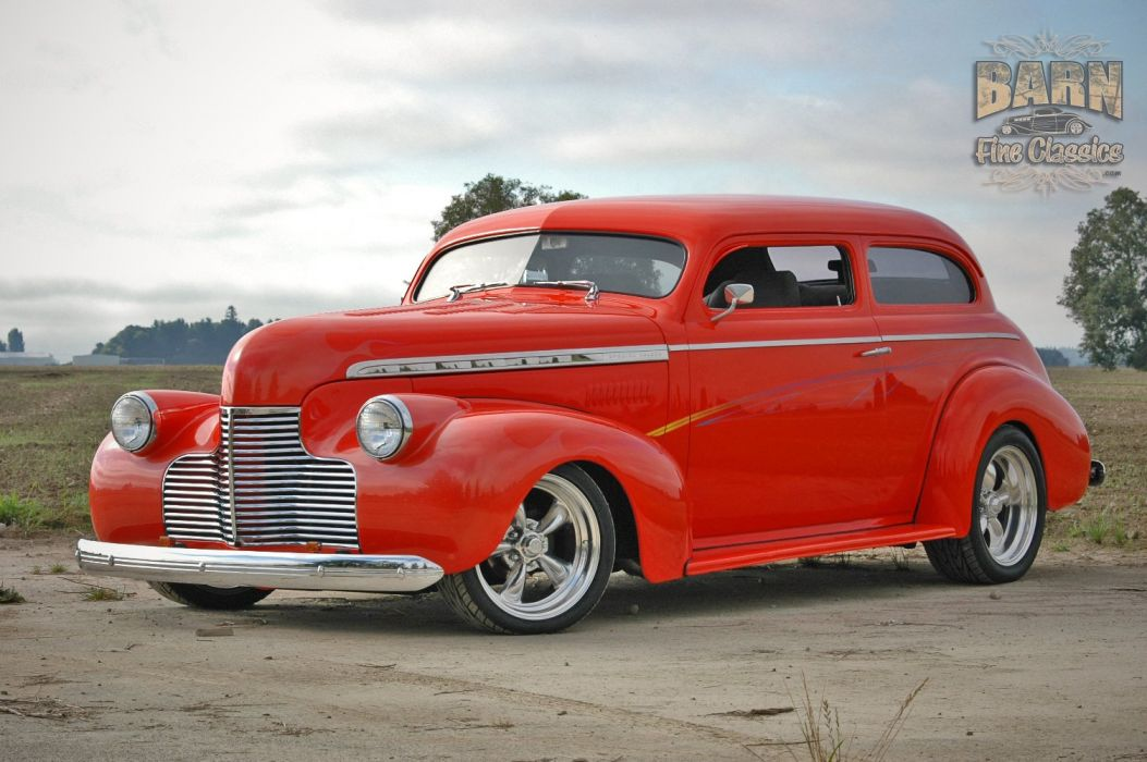 1940 Chevrolet Sedan Special Deluxe Hotrod Streetrod Hot Rod Street USA 1500x1000-15 wallpaper
