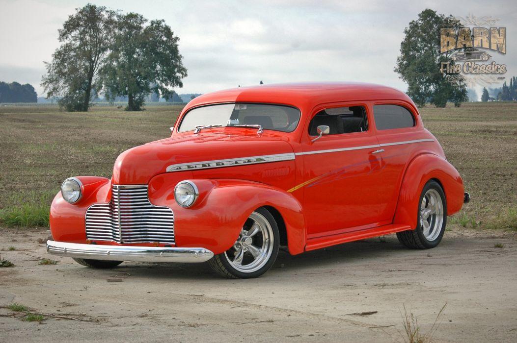 1940 Chevrolet Sedan Special Deluxe Hotrod Streetrod Hot Rod Street USA 1500x1000-16 wallpaper