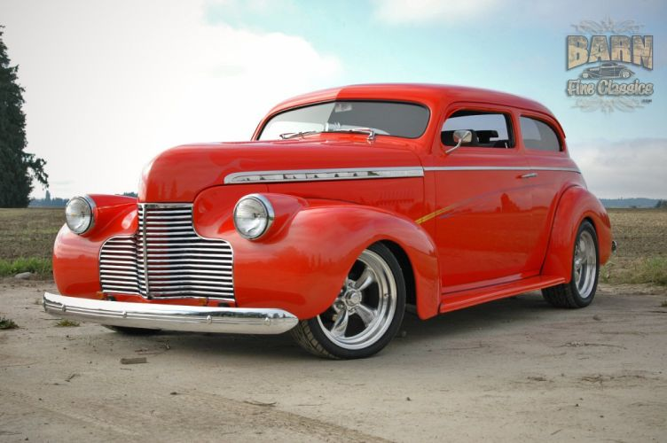 1940 Chevrolet Sedan Special Deluxe Hotrod Streetrod Hot Rod Street USA 1500x1000-18 wallpaper