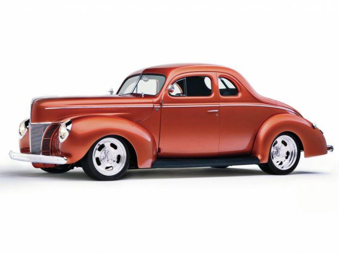 1940 Ford Couoe Hotrod Streetrod Hot Rod Street USA 1600x1200-02 wallpaper