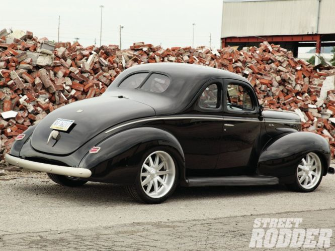 1940 Ford Couoe Hotrod Streetrod Hot Rod Street USA 1600x1200-05 wallpaper