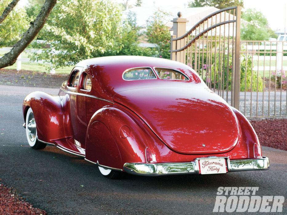 1940 Ford Coupe Custom Chopped Top Custom Full Kustom USA 1600x1200-02 wallpaper