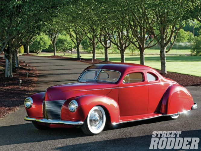 1940 Ford Coupe Custom Chopped Top Custom Full Kustom USA 1600x1200-01 wallpaper