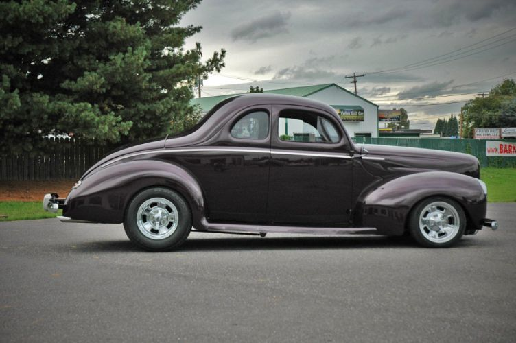 1940 Ford Coupe Deluxe Hotrod Streetrod Hot Rod Street USA 1500x1000-03 wallpaper