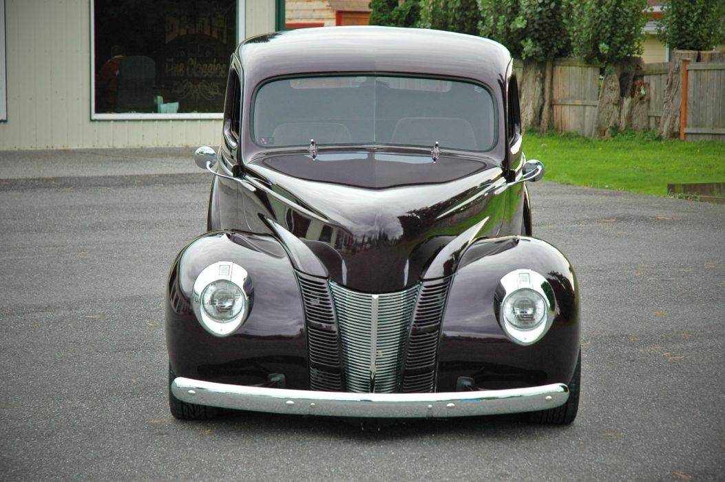 1940 Ford Coupe Deluxe Hotrod Streetrod Hot Rod Street USA 1500x1000-02 wallpaper
