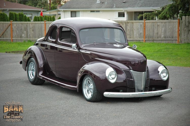 1940 Ford Coupe Deluxe Hotrod Streetrod Hot Rod Street USA 1500x1000-01 wallpaper