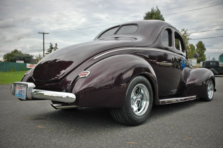 1940 Ford Coupe Deluxe Hotrod Streetrod Hot Rod Street USA 1500x1000-06 wallpaper