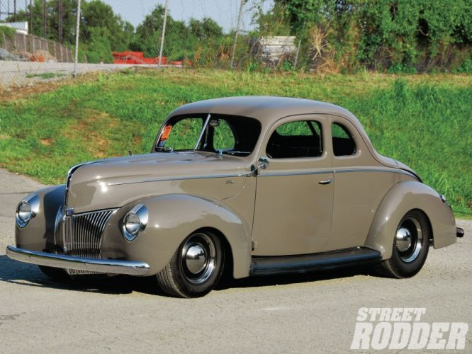 1940 Ford Deluxe Coupe Hotrod Hot Rod Custom Old School USA 1600x1200-01 wallpaper