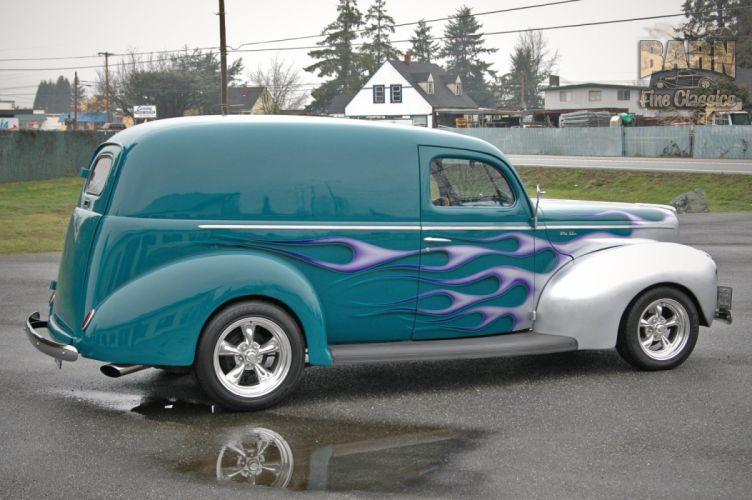 1940 Ford Deluxe Sedan Delivery Hotrod Streetrod Hot Rod Street USA 1500x1000-07 wallpaper