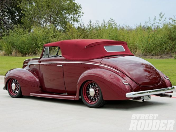 1940 Ford Standard Convertible Hot Rod Street Hotrod Streetrod USA 1600x1200-02 wallpaper